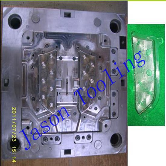 Bicolor Automobile Injection Mould Double Auto