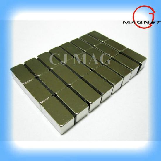 Big Block Ndfeb Magnets Nicuni Coating