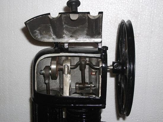 Big Stirling Engine Runs On Any Heat Source