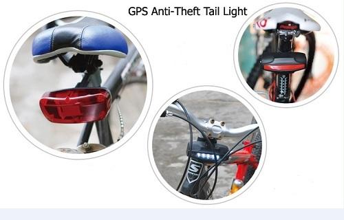 Bike Gps Tracker Tail Light For
