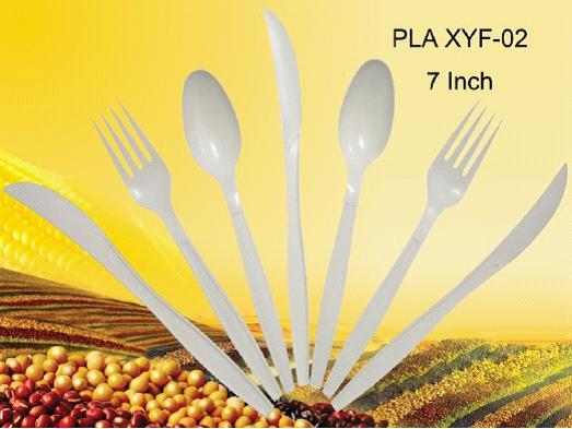 Biodegradable Disposable Cornstarch Cutlery