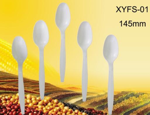 Biodegradable Disposable Plastic Spoon
