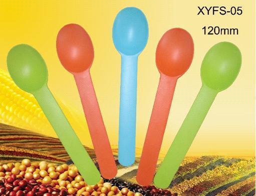 Biodegradable Disposable Spoon Yogurt