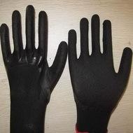 Black Latex Coated Working Gloves Lg1507 1