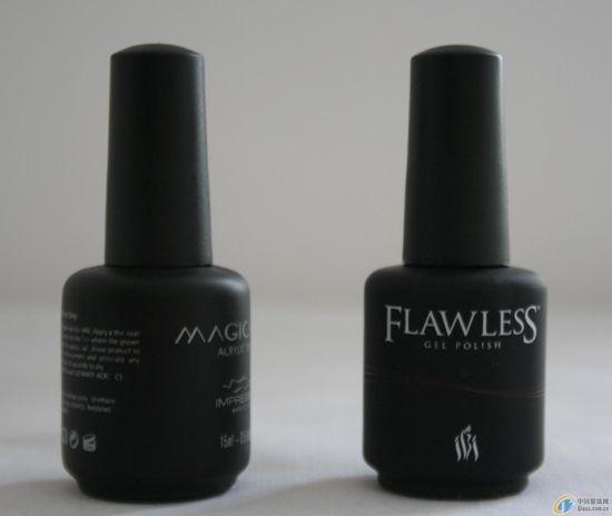 Black Nail Polish Bottle