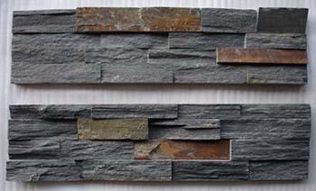Black Slate Stone Panel Zfw019c