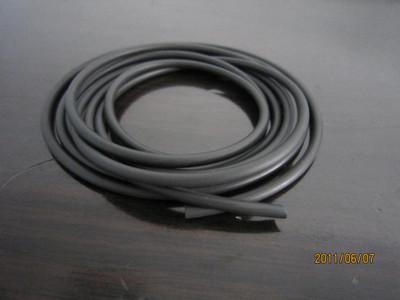 Black Viton Rubber Tubing