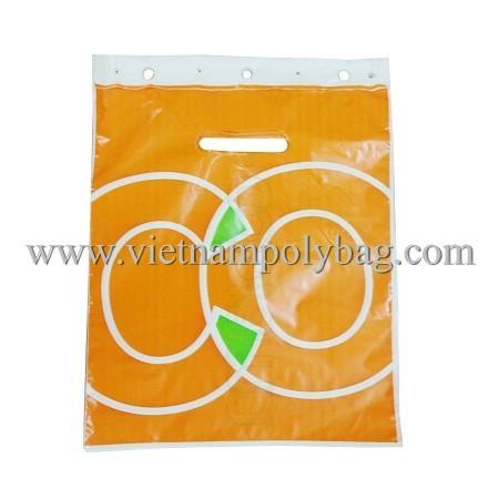Block Head Plastic Carrier Bag