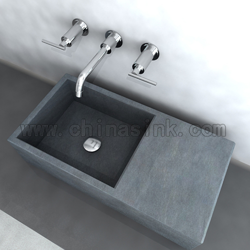 Blue Stone Batroom Sink