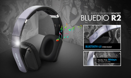 Bluedio R2 Bluetooth Stereo Headset