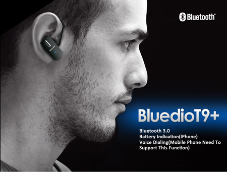 Bluedio T9 Light Weight Of 4 Grams Stable Transmitting Technology Bluetooth