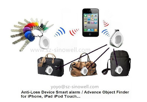 Bluetooth Anti Loss Alarm Tracker And Self Remote Shutter For Ios Android