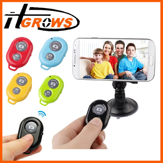 Bluetooth Remote Shutter For Iphone Ipad Ipod Ios Android