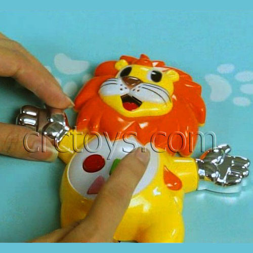 Body Sensor Interative Game Player Touch Lion Piano
