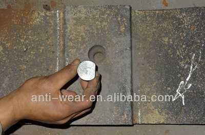 Bolt Hole Inspection For Mill Liners With Bolts