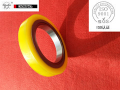 Bonded Rubber Spacers For Slitting Line