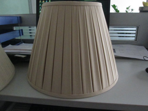 Box Pleated Lamp Shade