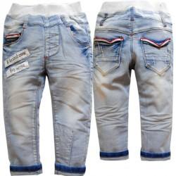 Boys Soft Denim Light Blue Jeans