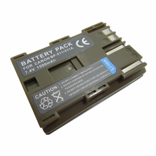 Bp 511 511a Battery For Canon Eos 40d 50d 5d D30 D60