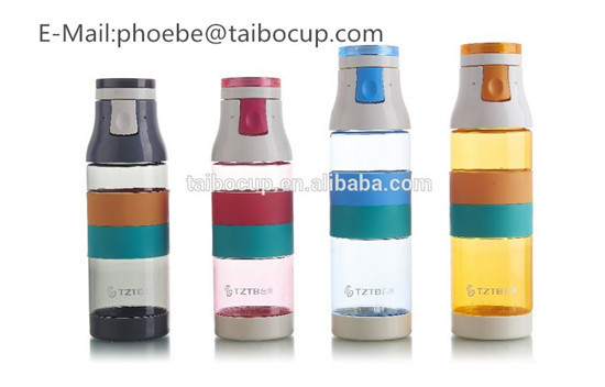 Bpa Free Flip Top Plastic Water Bottle