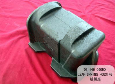 Bpw Leaf Spring Housing Cushion