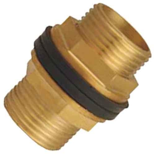 Brass Central Hexagonal Connectors
