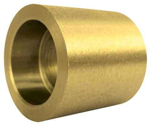Brass Socket Weld Coupling