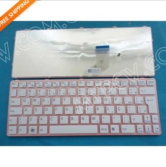 Brazil Teclado Keyboard For Sony Sve11 Sve111 Sve1113 Sve1112 White Color W