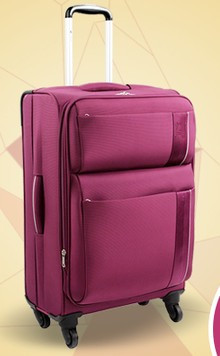 Bs375 Nylon Softside Travel Spinner Luggage