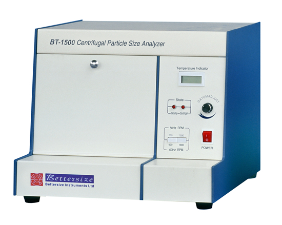 Bt 1500 Centrifugal Sedimentation Particle Size Analyzer
