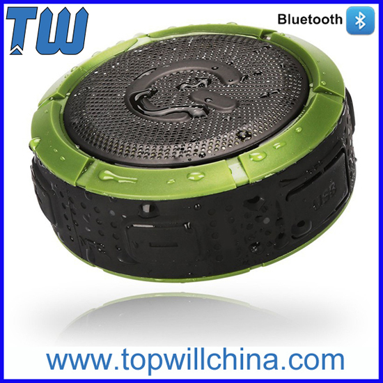 Built In Polymer Battery Outdoor Bluetooth Speaker Waterproof