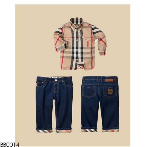 Burber Girl S Clothing Set Wholesale
