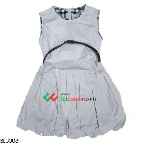 Burber Girl S Dress Online Wholesale