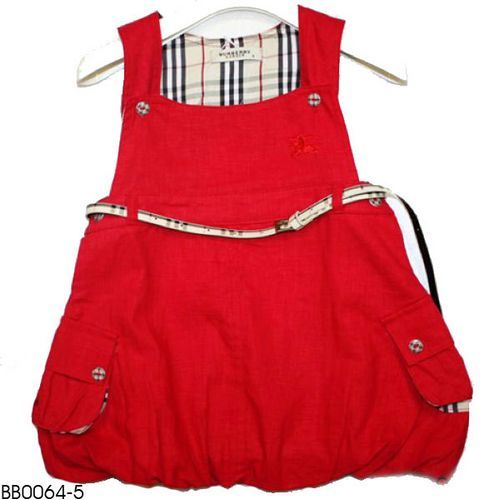 Burber Girl S Dress Wholesale