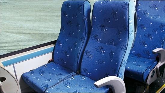 Bus Parts Automotive Seat Coach