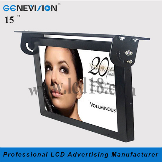 Bus Used 15 Inch Network 3g Wifi Lcd Advertising Player Manufacturer Mbus 1