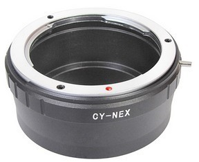 C Y Lens Contax Yashica To Sony E Mount Adapter Ring For Nex 5 7 Cy