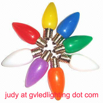 C7 Led Replacement Christmas Bulbs For Holiday Decoration Ul Approved