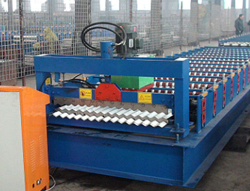 C8 Roof Plate Forming Machine