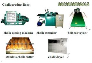 Calcium Carbonate Dustless Chalk Making Machine 8613939032415
