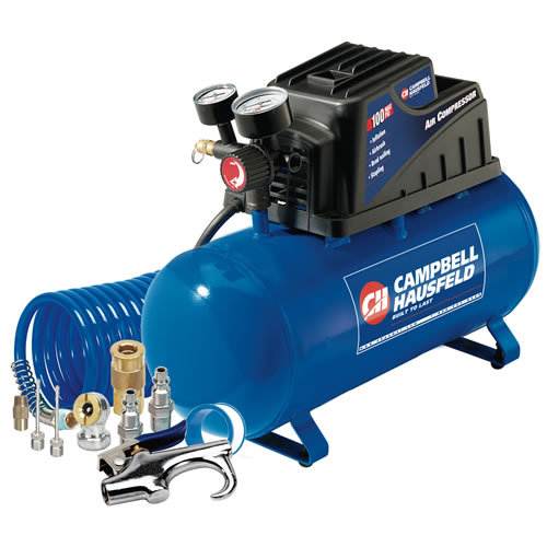 Campbell 3 Gallon Hot Dog Air Compressor