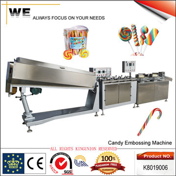 Candy Embossing Machine