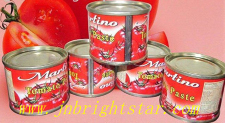 Canned Tomato Paste Sauce Ketchup
