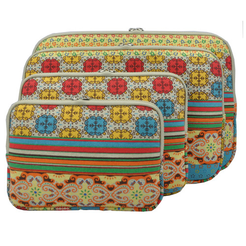 Canvas Bohemian Laptop Sleeve Bag