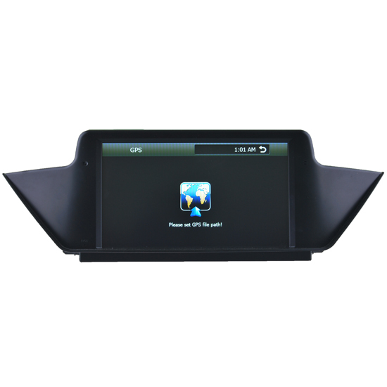 Car Audio Of Bmw X1 Dvd With 8 Inch Touch Screen