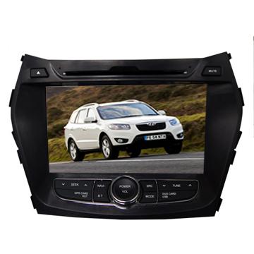 Car Dvd Navigation With 3g Ipod Isdb T Dvb Radio Gps Oem Hyundai Ix45 2013
