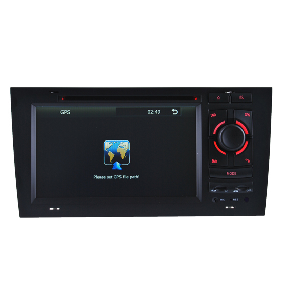 Car Dvd Player Of Audi A6 Navigation