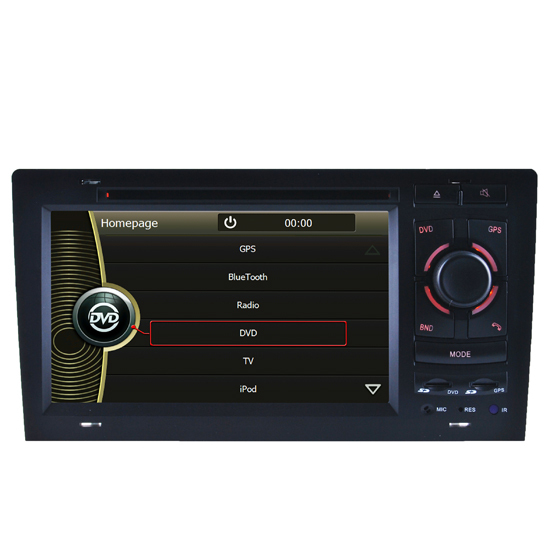 Car Dvd Player Of Audi A8 Navigation