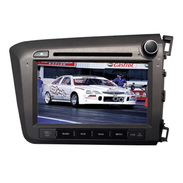 Car Dvd Player Special Radio Gps Supplier Honda New Civic Right Side