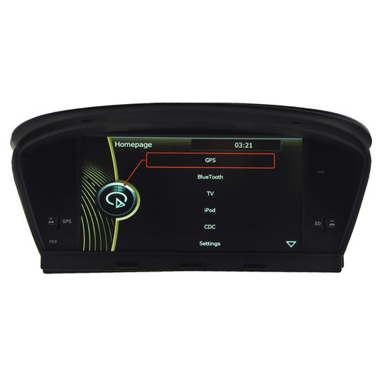 Car Multimedia Navi System Of Bmw 5 E60 E61 E63 E64 Dvd